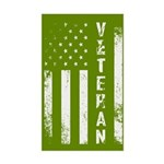 U.S. Veteran Flag Sticker