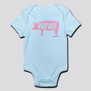 You Are What You Eat Pig Infant Bodysuit