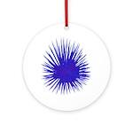 Purple Sea Urchin Ornament (Round)