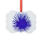 Purple Sea Urchin Ornament