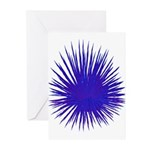 Purple Sea Urchin Greeting Cards (Pk of 20)