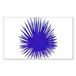 Purple Sea Urchin Sticker