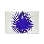 Purple Sea Urchin Rectangle Magnet