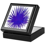 Purple Sea Urchin Keepsake Box