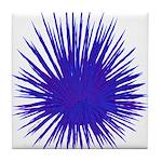 Purple Sea Urchin Tile Coaster