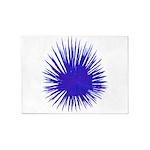 Purple Sea Urchin 5'x7'Area Rug