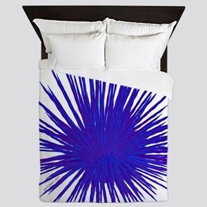 Purple Sea Urchin Queen Duvet