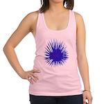 Purple Sea Urchin Racerback Tank Top