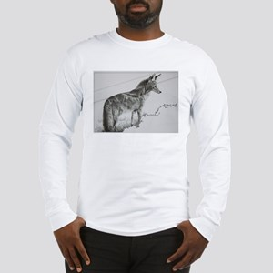 Tracy L Teeter Coyote Sun Long Sleeve T-Shirt