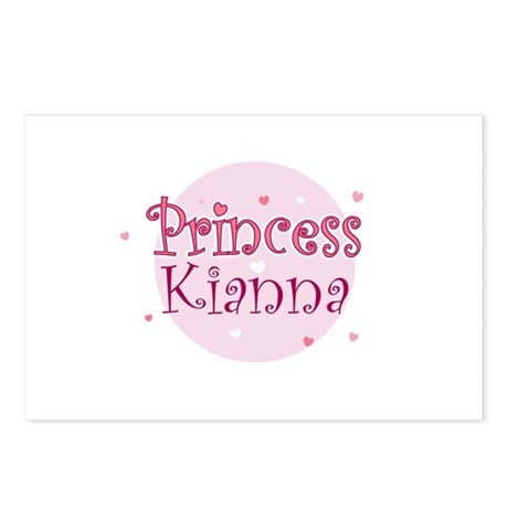 Kianna Postcards (Package of 8)
