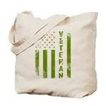 U.S. Veteran Flag Tote Bag