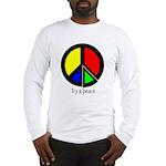 Try a peace Long Sleeve T-Shirt