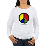 Try a peace Women's Long Sleeve T-Shirt