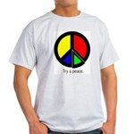 Try a peace Ash Grey T-Shirt