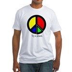 Try a peace Fitted T-Shirt