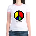 Try a peace Jr. Ringer T-Shirt