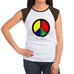 Try a peace Women's Cap Sleeve T-Shirt