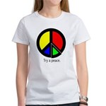 Try a peace Women's T-Shirt