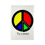 Try a peace Rectangle Magnet (100 pack)