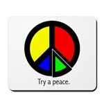 Try a peace Mousepad