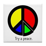 Try a peace Tile Coaster