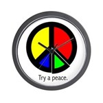 Try a peace Wall Clock