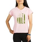 U.S. Veteran Flag Performance Dry T-Shirt