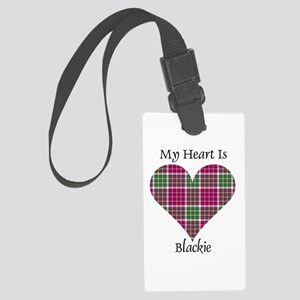 Heart - Blackie Large Luggage Tag