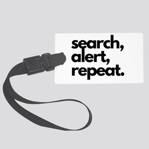 Search Alert Nosework Large Luggage Tag