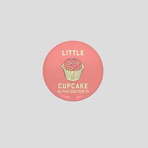 Alpha Omicron Pi Little Cupcake Mini Button