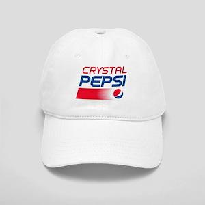 Crystal Pepsi Logo Cap