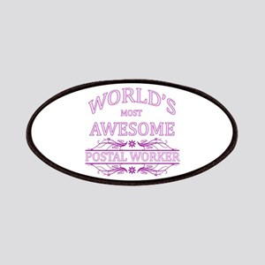 World's Most Awesome Postal Worker Patches