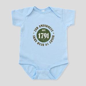 2nd Amendment Est. 1791 Body Suit
