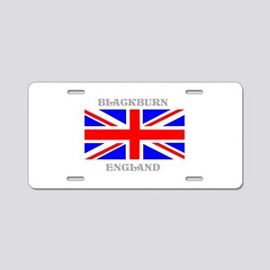 Blackburn England Aluminum License Plate