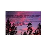 Great Spirit Prayer Rectangle Magnet