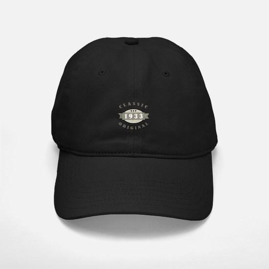 1933 Birthday Classic Original Baseball Hat