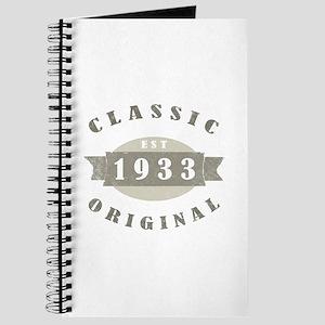 1933 Birthday Classic Original Journal
