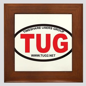TUG Oval Logo Framed Tile