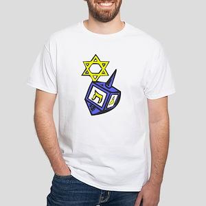Hanukkah White T-Shirt