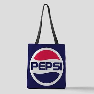 Pepsi 90s Logo Polyester Tote Bag