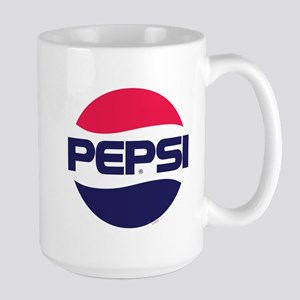 Pepsi 90s Logo 15 oz Ceramic Large Mug