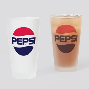 Pepsi 90s Logo Drinking Glass