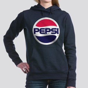 Pepsi 90s Logo Women's Hooded Sweatshirt