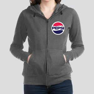 Pepsi 90s Logo Women's Zip Hoodie
