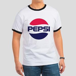 Pepsi 90s Logo Ringer T