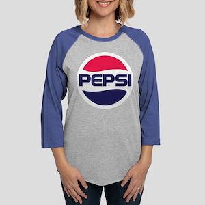 Pepsi 90s Logo Womens Baseball Tee