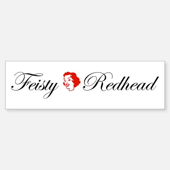 Bumper Stickers For Redheads