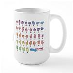 Got ASL? Pastel Large Mug