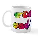 Got ASL? Rainbow Mug