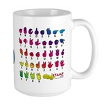 Got ASL? Rainbow Large Mug